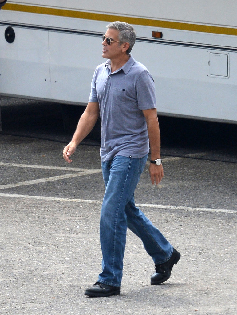 George Clooney Flashes a Sexy Grin For a New Commercial
