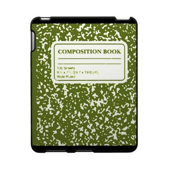 Speck Composition Book iPad Case