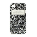 Kate Spade New York Composition Notebook iPhone 4 Case