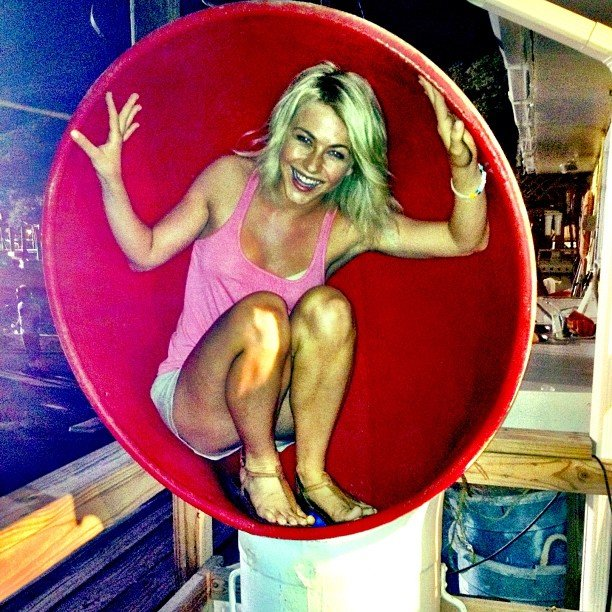 Julianne Hough had a ball. Source: Instagram user juleshough
