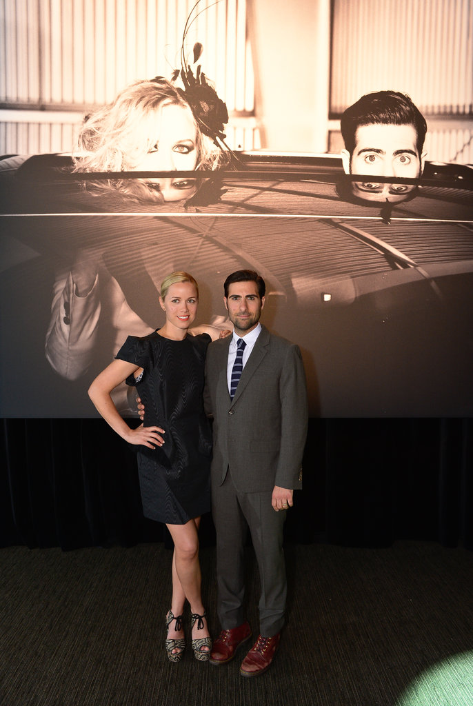 Jason Schwartzman and wife Brady Cunningham attended an event in California.