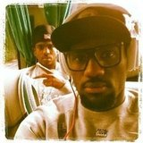 LeBron James hung out with his teammates on the bus to their game against France.  Source: Twitter user KingJames