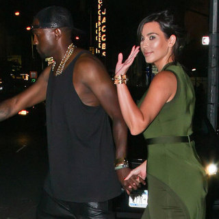 Kim Kardashian and Kanye West Date Night Pictures
