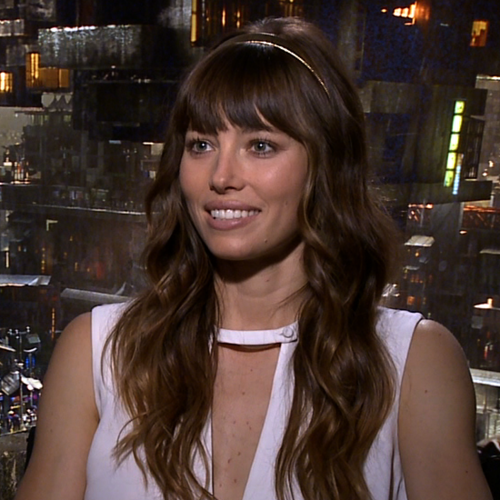 Jessica Biel Total Recall Interview | Video