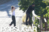 Kristen Stewart hung out in LA with Rupert Sanders.