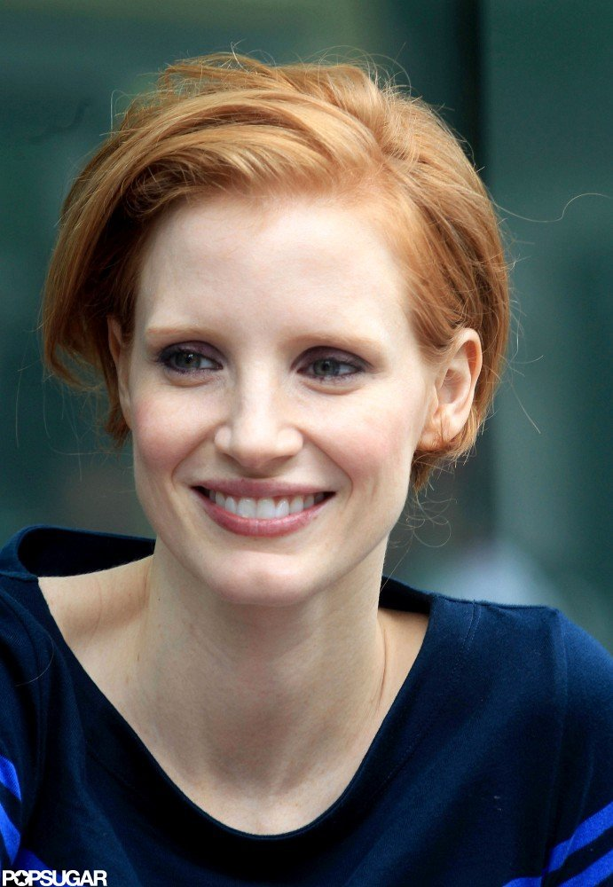Jessica Chastain Gets to Work and Scores a Major Fashion Accolade