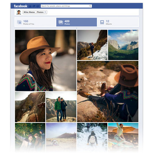 Facebook Photos Section New Look