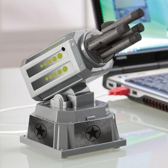 USB Desktop Missile Launcher ($40)