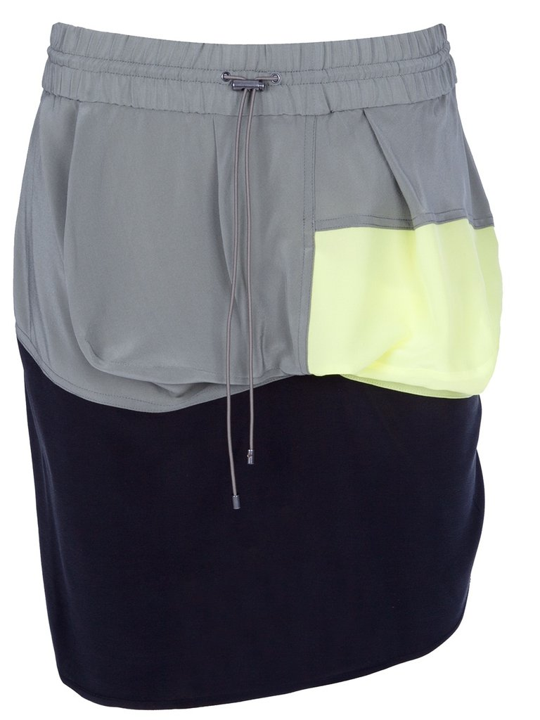 Colorblock detailing and a drawstring waist always amount to a classic sporty piece. Tuck a white tee or tank into this skirt and you're ready to go. Alexander Wang Color Block Skirt ($220, originally $438)