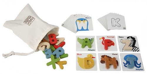 PlanToys Plan Preschool Alphabet ($27)