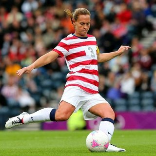 US Women's Olympic Soccer Captain Christie Rampone Interview