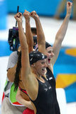 US Women's Relay Team Has a Record-Breaking Swim
