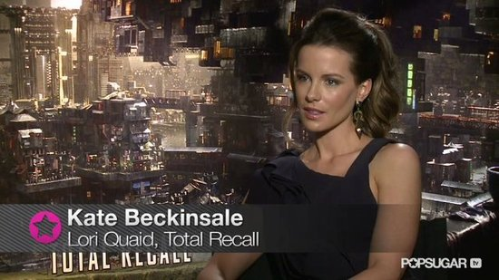 Kate Beckinsale Talks Teaming Up With Her Husband on Total Recall