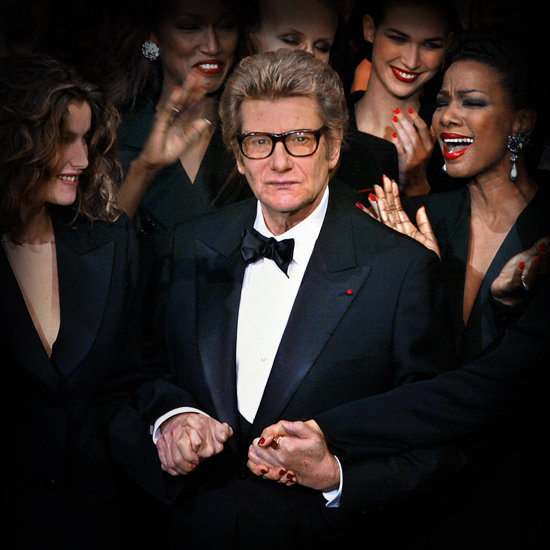 Yves Saint Laurent Life in Pictures