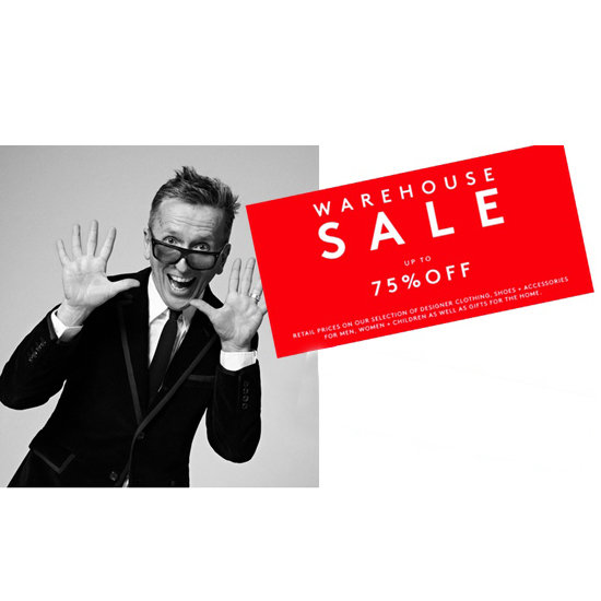 Barneys Warehouse Sale