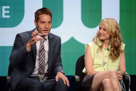 Mamie Gummer and Justin Hartley
