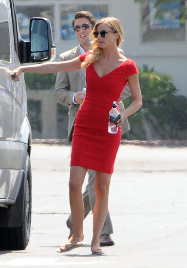 Emily VanCamp Heats Up the Set of Revenge With Josh Bowman
