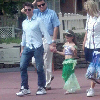 Tom Cruise Takes Suri to Disney | Pictures