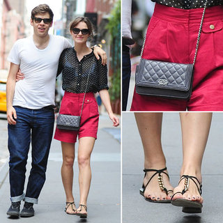 Keira Knightley and James Righton in NYC