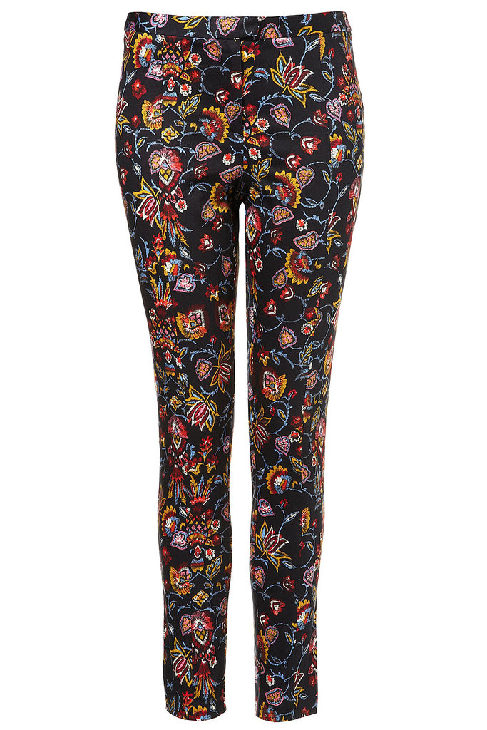 This bold tapestry design would pop against an even bolder red pump — just saying. Co-Ord Tapestry Trousers ($80)