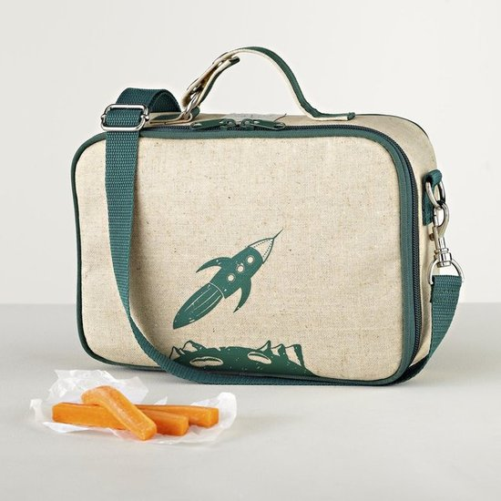 The Land of Nod Retro Rocket Lunch Bag ($30)