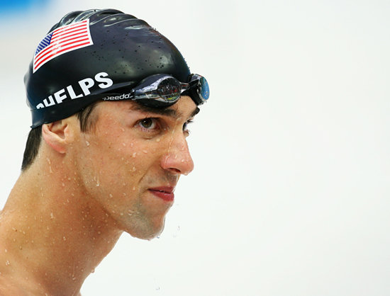 """You can't put a limit on anything. The more you dream, the further you get."" — Michael Phelps on dreaming big"