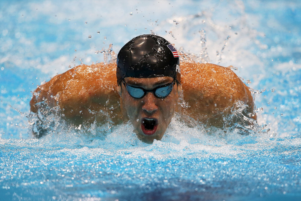 """""""If you want to be the best, you have to do things that other people aren't willing to do."""" — Michael Phelps on his dedication and motivation"""