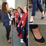 Kate Middleton Stuart Weitzman Wedges Loved by Rebecca Adlington