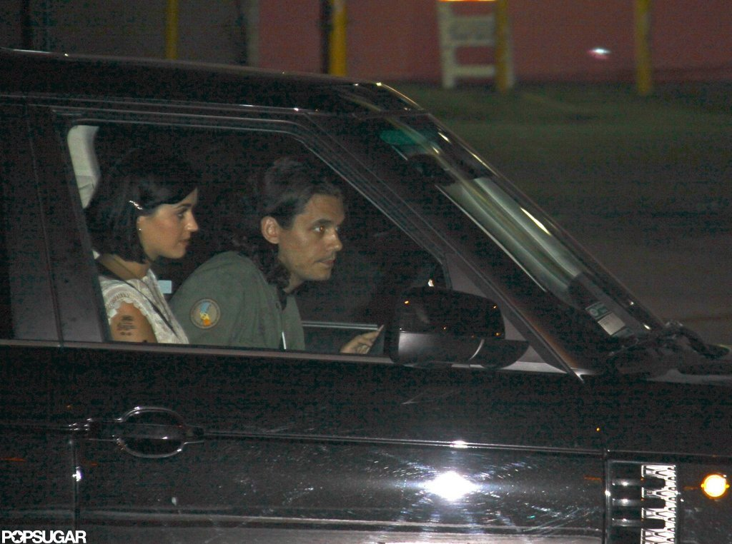 Katy Perry and John Mayer shared a ride.