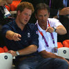 Prince Harry Watching Olympic Diving