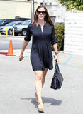 Jennifer Garner headed back to her car after a breakfast meeting.