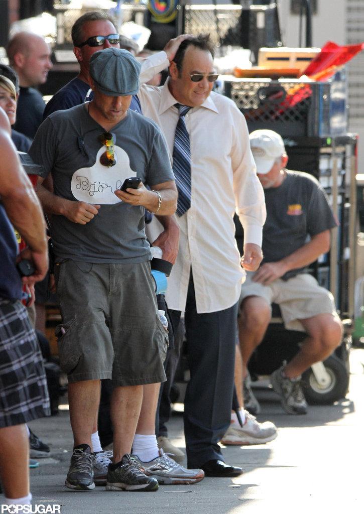 Dan Aykroyd filmed new scenes for Behind the Candelabra in LA.