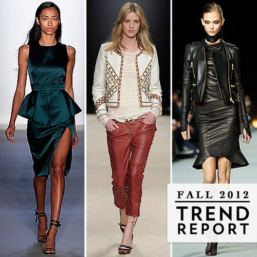 Top Trends For Fall 2012