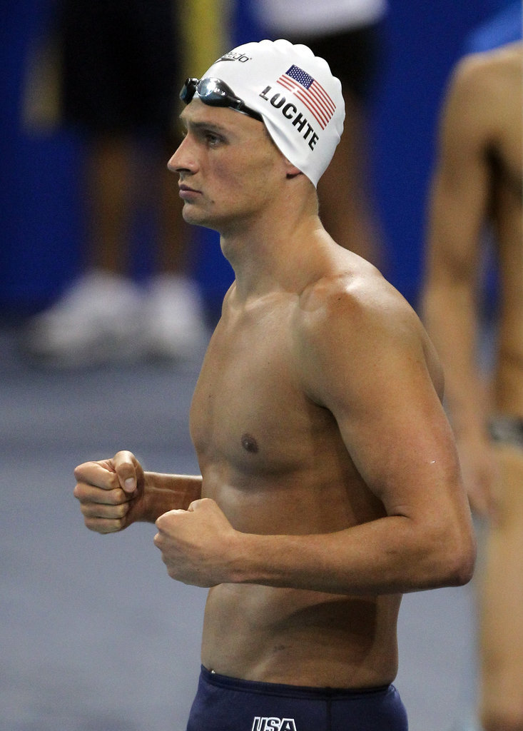 Ryan got serious at the FINA World Championships in 2011.