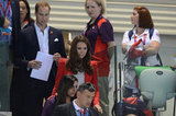 Kate Middleton Wears Polka Dots to Support Team GB With William
