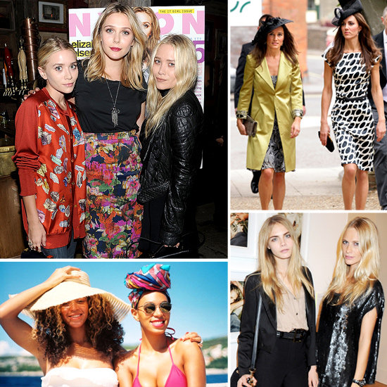 Most stylish celebrity sisters