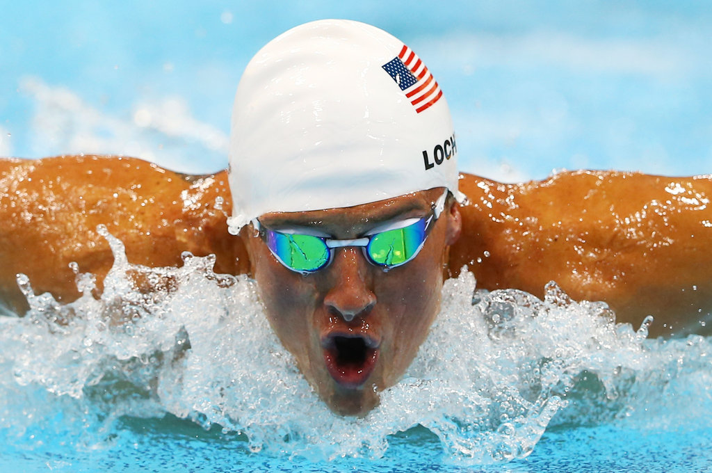 Ryan Lochte swam his way to silver in the 4x100m freestyle relay.