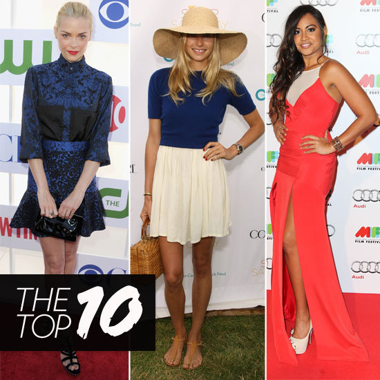Top Ten Best Dressed Celebrities of the Week: