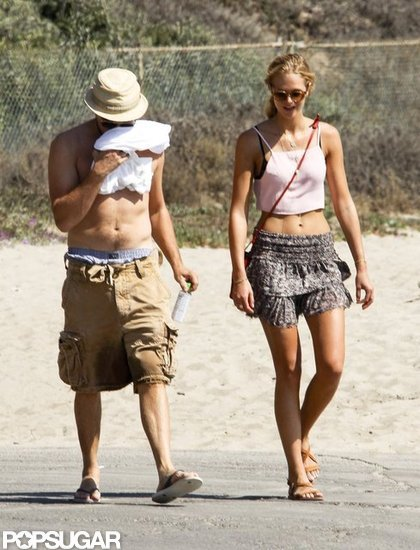 Leonardo DiCaprio and Erin Heatherton went to Malibu.