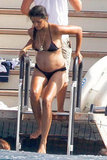 Camila Alves Shows Her Baby Bump With Shirtless Matthew McConaughey