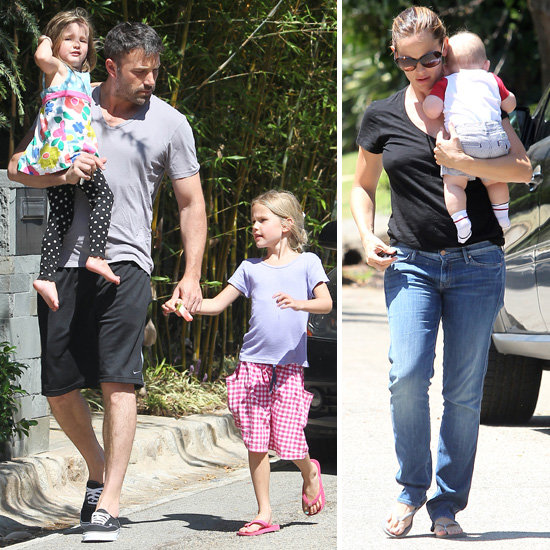 Ben Affleck Returns to LA, Jennifer, and Their Three Kids