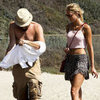 Leonardo DiCaprio Shirtless With Erin Heatherton | Pictures
