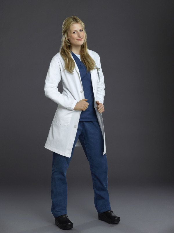 Mamie Gummer as Emily Owens on Emily Owens, M.D.