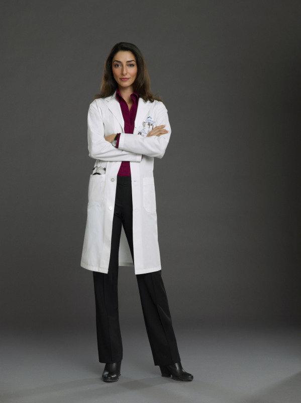 Necar Zadegan as Gina on Emily Owens, M.D.