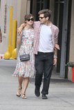 James Righton had his arm around fiancée Keira Knightley in NYC.