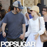 Rachel McAdams and Michael Sheen held hands at The Grove.