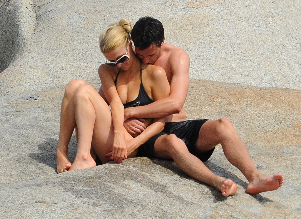 Paris Hilton and her new man spent time together.