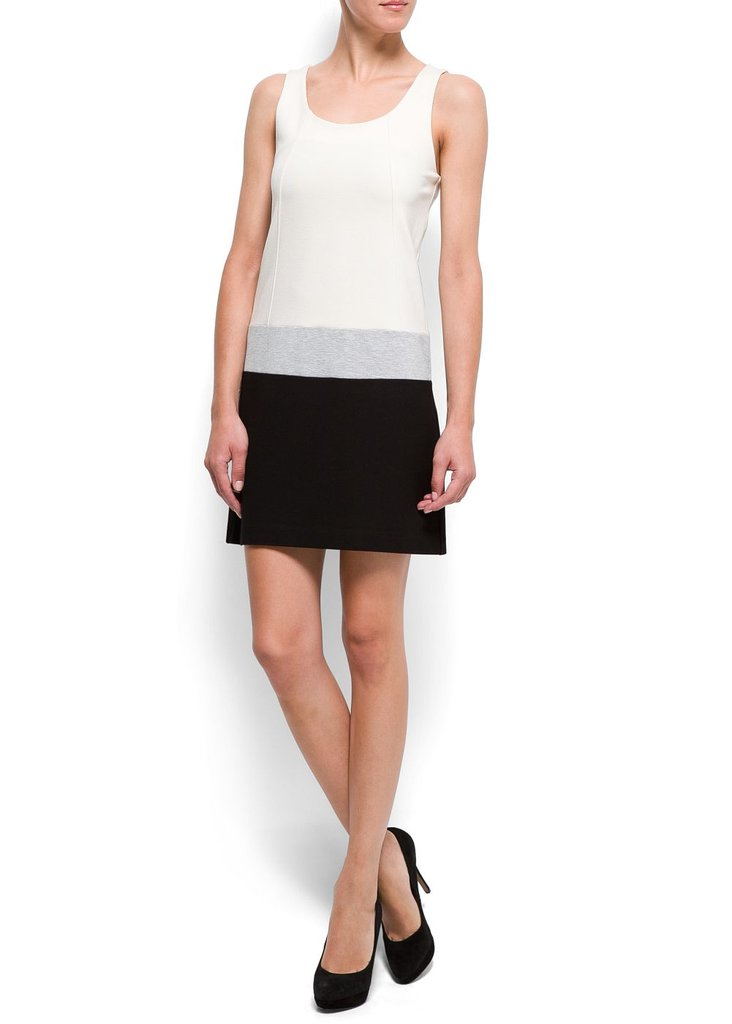 This sleeveless colorblock dress is great for the office or date night. Just add a structured blazer and heels. Mango Straight-Cut Blocks Dress ($80)
