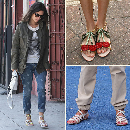 The Trend: Flat Sandals