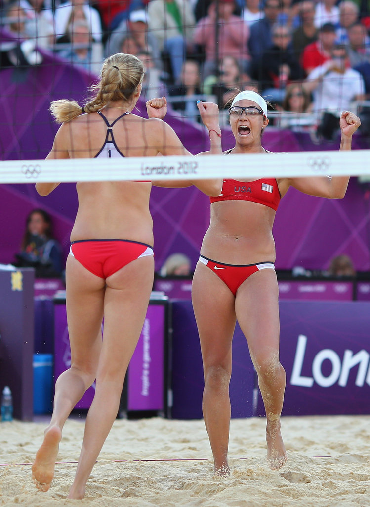 """""""It's very similar to a marriage or sisterhood. I don't have a sister but I consider her a sister. We've been through thick and thin. That's how you gain experience and go through the ups and downs. We genuinely care for each other and we balance our lives on and off the court."""" — Misty May-Treanor on her partnership with Kerri"""